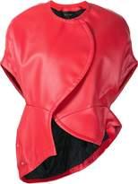 Comme des Garcons shortsleeved biker jacket