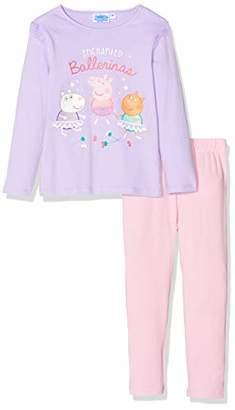 Peppa Pig Girl's HS2168 Pyjama Sets,(Size:)