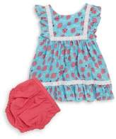 Hatley Baby's Two-Piece Strawberry Dress & Bloomer Set