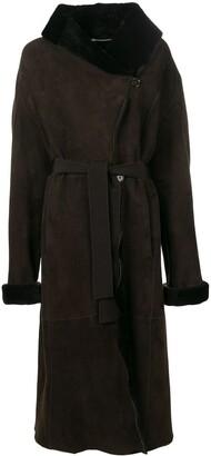Liska Wide Collar Coat