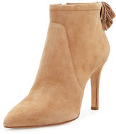 Loeffler Randall Maryl Suede Pompom Bootie