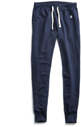 Todd Snyder + Champion Heavyweight Slim Jogger Sweatpant in Navy