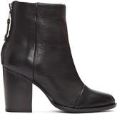 Rag & Bone Black Leather Ashby Boots