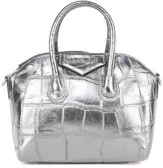Marc Ellis Maggy Bag In Silver Leather