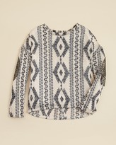 Vintage Havana Girls' Tribal Print Sweater - Sizes S-XL