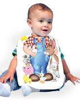 Just Add A Kid Baby Boy's Farm Animals 332 Baby Bib 0-6 Months