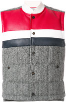 Thom Browne padded contrast gilet
