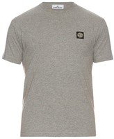 Stone Island Crew-neck Cotton T-shirt