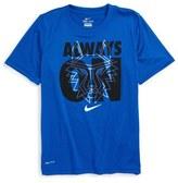 Nike 'Legend - Always On' Graphic Dri-FIT T-Shirt (Little Boys & Big Boys)