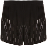 Anthony Vaccarello Embellished Skort