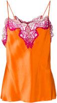 Marques Almeida Marques'almeida - lace detail cami - women - Silk/Polyamide/Rayon - S