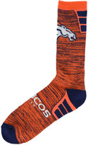 For Bare Feet Denver Broncos Jolt Socks