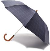 London Undercover Window Pane Telescopic Umbrella with Maple Handle