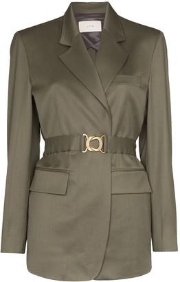 LVIR Belted Wool Blazer