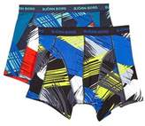 Burton Mens Bjorn Borg 2 Pack Printed Trunks*