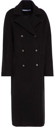 IRO Double-breasted Wool And Cashmere-blend Felt Coat