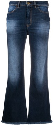 PT05 Stonewashed Cropped Jeans