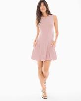 Soma Intimates High Neck Stripe Sleeveless Dress