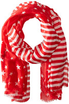 Steve Madden Two-Tone Stars and Bars Day Wrap