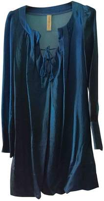 Coast Weber & Ahaus Blue Silk Dress for Women