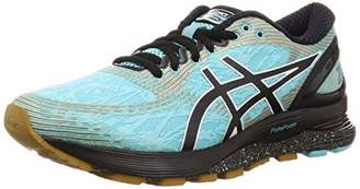 Asics Women's Gel-Nimbus 21 Winterized Running Shoes, Green (Ice Mint/Black 400)
