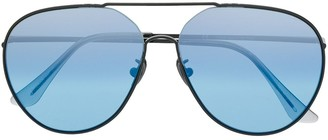RetroSuperFuture Completo aviator sunglasses