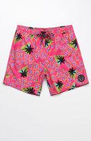 "Maui & Sons Reckless 17"" Swim Trunks"