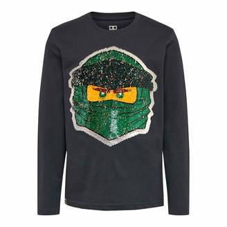 Lego Boys Ninjago cm mit Wendepailletten Longsleeve T-Shirt