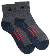 adidas 2 Pack Men's Crew Socks