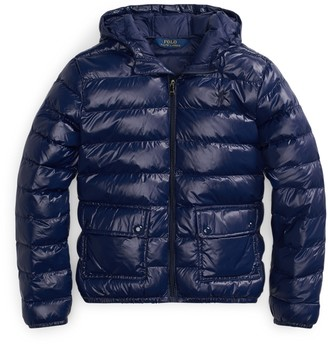 Ralph Lauren Packable Hooded Coat