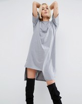 Asos T-Shirt Dress with Split Hem Detail
