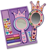 Melissa & Doug Decorate-Your-Own Princess Mirror Arts & Crafts Kit