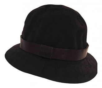 Gucci Black Polyester Hats & pull on hats