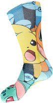 Pokemon Reversible Print Men's Crew Socks