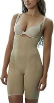 Nude Seamless Long Leg Control Bodysuit - Plus Too