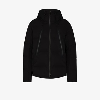 Descente Black Mizusawa padded jacket
