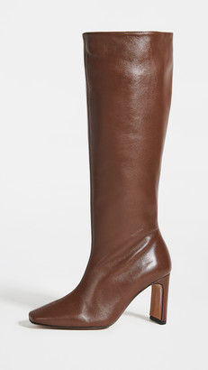 Souliers Martinez Enero Leather 70mm Boots