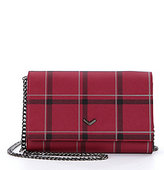 Botkier Soho Plaid Wallet on A Chain