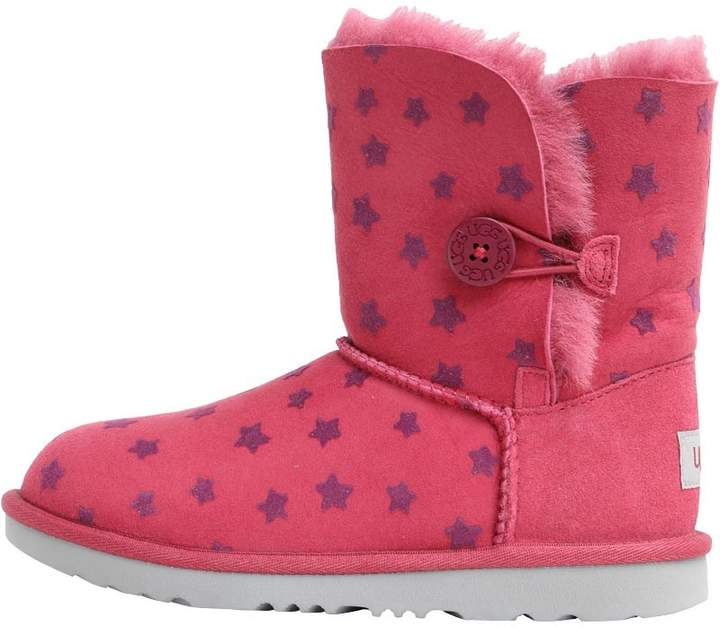 d373058e484 Junior Girls Bailey Button II Stars Classic Boots Brambleberry
