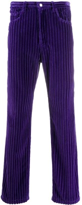AMI Paris Corduroy Straight-Leg Trousers