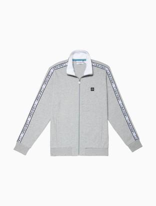 Calvin Klein Athleisure Logo Tape Full Zip Sweatshirt