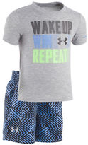 Under Armour Baby Boys Printed Top and Shorts Set