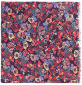 Paul Smith floral print scarf