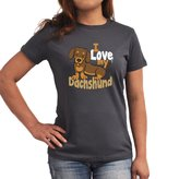 Eddany I love my dachshund Women T-Shirt