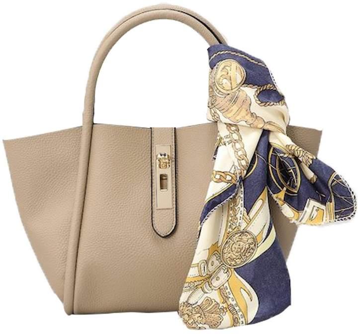 3f651db35628 Un Billion Un BIllion Lacy Tote Bag in Oak Polyester/Vegan Leather