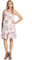 Motherhood Jessica Simpson Ruffle Front Maternity Dress
