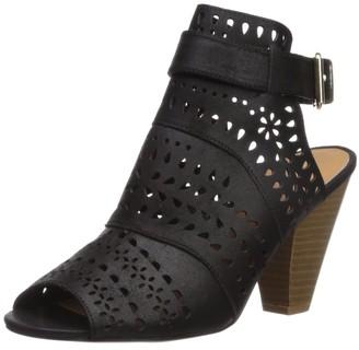 Qupid Women's Chamber-17 Heeled Sandal