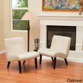 Christopher Knight Home Bainbridge Slope Slipper Chair (Set of 2)