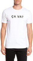 French Connection Men's Ca Va? Graphic T-Shirt