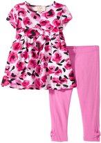 Kate Spade Top and Legging Set (Baby) - Rosebud/Carousel Pink - 6 Months